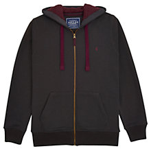 Buy Joules Hemsby Hoody, Coal Online at johnlewis.com