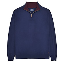 Buy Joules Hillside Half Zip Jumper Online at johnlewis.com