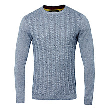 Buy Ted Baker Toppul Sweater, Navy Online at johnlewis.com