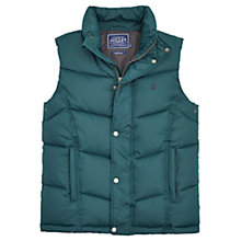 Buy Joules Rutland Padded Gilet, Regency Green Online at johnlewis.com