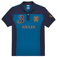 Buy Joules Latino Classic Fit Polo Shirt, Dark Teal Online at johnlewis.com