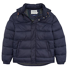 Buy Joules Brampton Padded Jacket, Navy Online at johnlewis.com