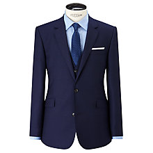 Buy John Lewis Super 100s Wool Birdseye Tailored Suit Jacket, Blue Online at johnlewis.com