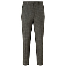 Buy Kin by John Lewis Carter Check Slim Suit Trousers, Black/White Online at johnlewis.com