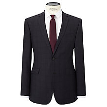 Buy Kin by John Lewis Franklin Tonal Check Slim Fit Suit Jacket, Charcoal Online at johnlewis.com