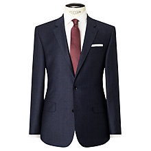 Buy John Lewis Woven by Ermenegildo Zegna Super 160s Wool Prince of Wales Check Tailored Suit Jacket, Blue Online at johnlewis.com