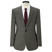 Buy Kin by John Lewis Carter Check Slim Suit Jacket, Black/White Online at johnlewis.com