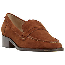 Buy Dune Gandy Block Heeled Loafers Online at johnlewis.com