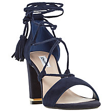 Buy Dune Margo Lace Up Block Heeled Sandals Online at johnlewis.com
