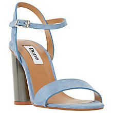 Buy Dune Matylda Block Heeled Sandals Online at johnlewis.com