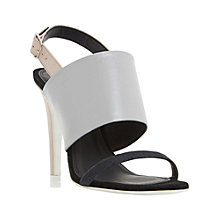 Buy Dune Memo Stiletto Heeled Sandals, Multi Online at johnlewis.com
