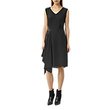 Buy AllSaints Vista Dress, Black Online at johnlewis.com
