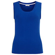 Buy Precis Petite by Jeff Banks Knitted Vest Top, Bright Blue Online at johnlewis.com