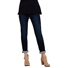 Buy Mint Velvet Lennox Straight Leg Jeans, Indigo Online at johnlewis.com