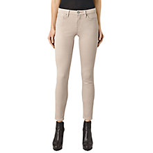 Buy AllSaints Mast Skinny Jeans, Dusty Pink Online at johnlewis.com