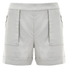 Buy Mint Velvet Patch Pocket Shorts, Grey Online at johnlewis.com