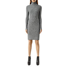 Buy AllSaints Bernt Dress, Grey Online at johnlewis.com