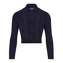 Buy Viyella Petite Shrug, Navy Online at johnlewis.com
