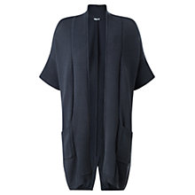 Buy Jigsaw Patch Pocket Cardigan, Storm Grey Online at johnlewis.com