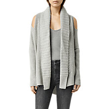 Buy AllSaints Able Open Shoulder Cardigan Online at johnlewis.com