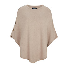 Buy Viyella Bobble Poncho, Taupe Online at johnlewis.com