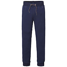 Buy Tommy Hilfiger Boys' Cotton Blend Joggers, Navy Online at johnlewis.com
