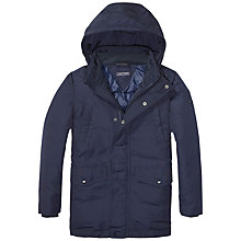 Buy Tommy Hilfiger Boys' Jacket, Navy Online at johnlewis.com