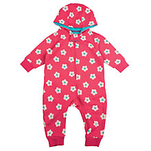 Buy Frugi Organic Baby Floral Pramsuit Online at johnlewis.com