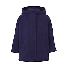 Buy John Lewis Girls' Fashion Cape, Navy Online at johnlewis.com