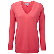 Buy Pure Collection Imperial Sweater, Tropical Pink Online at johnlewis.com