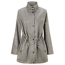 Buy Four Seasons Hooded Parka Coat, Grey Online at johnlewis.com
