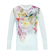 Buy Ted Baker Gertey Hanging Gardens Jumper, Mint Online at johnlewis.com