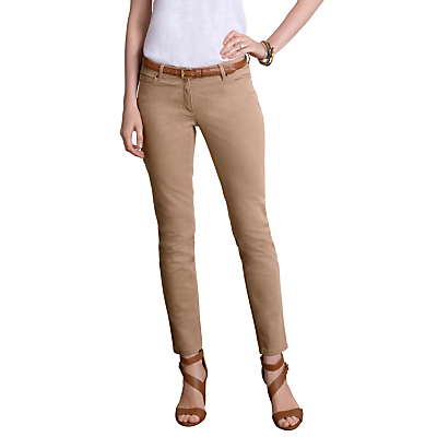 Pure Collection Jenkins Crop Jeans, Sand