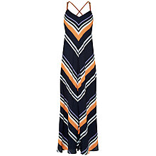 Buy Ted Baker Diina Tribal Stripe Maxi Dress, Navy Online at johnlewis.com