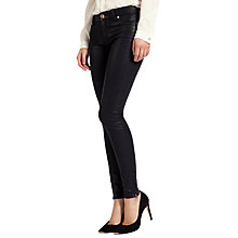 Buy Ted Baker Annna Wax Finish Jeans Online at johnlewis.com