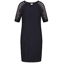 Buy Celuu Tessa Panelled Dress, Navy Online at johnlewis.com