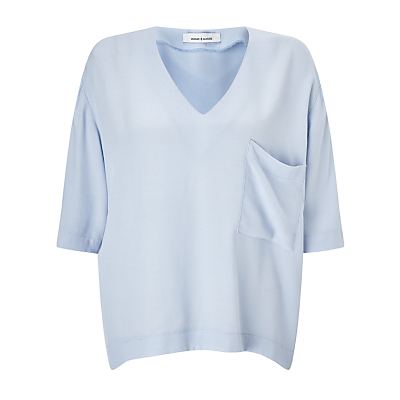 Samsoe & Samsoe Linne Top, Kentucky Blue
