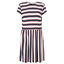 Buy Samsoe & Samsoe Vermund Stripe Dress, Breton Bold Online at johnlewis.com