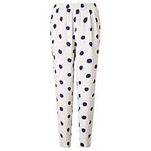 Buy Selected Femme Fria Trousers, Blue Dot Online at johnlewis.com