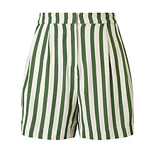 Buy Selected Femme Aliva Stripe Shorts Online at johnlewis.com
