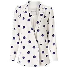 Buy Selected Femme Fria Blazer, Blue Dot Online at johnlewis.com