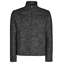 Buy Reiss Edward Jersey Jacket, Grey Online at johnlewis.com