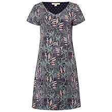 Buy White Stuff Decorative Print Dress, Ebony Blue Online at johnlewis.com