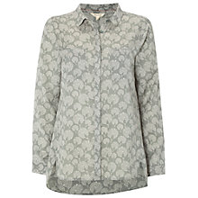 Buy White Stuff Endless Print Shirt, Ceramic Green Online at johnlewis.com