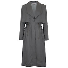 Buy French Connection Kruger Tencel Oversized Trench Coat, Tribal Green Online at johnlewis.com