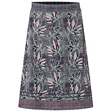 Buy White Stuff Decorative Print Skirt, Ebony Blue Online at johnlewis.com