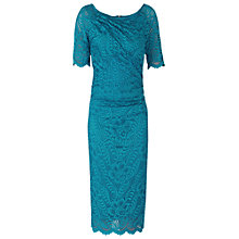 Buy Jolie Moi Lace Ruched Shift Dress Online at johnlewis.com