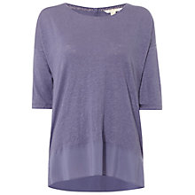 Buy White Stuff Casting Li T-Shirt, Graphite Grape Online at johnlewis.com