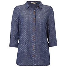 Buy White Stuff Dotty Shirt, Denim Online at johnlewis.com