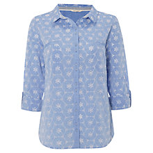 Buy White Stuff Florette Shirt, Denim Online at johnlewis.com